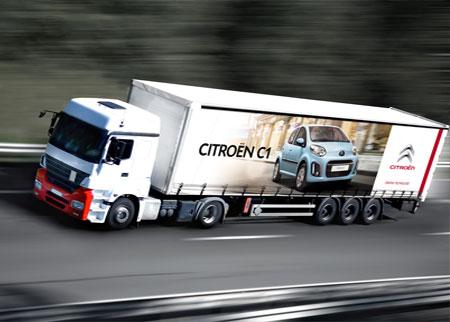 Bâche camion